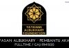Jawatan Kosong Yayasan Albukhary