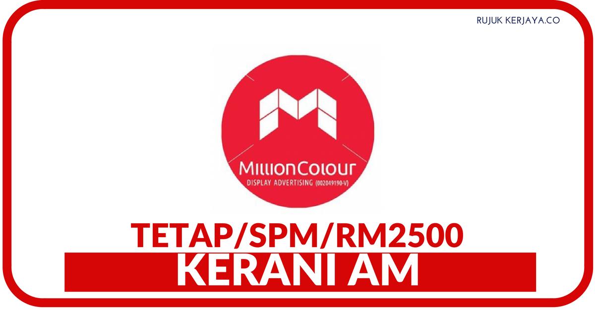 Kerani AM di Million Colour