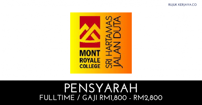 Lecturer Mont Royale College