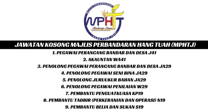 Majlis Perbandaran Hang Tuah (MPHTJ)