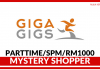 Mystery Shopper di GigaGigs (Part Time)