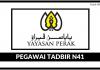 Pegawai Tadbir N41 Yayasan Perak