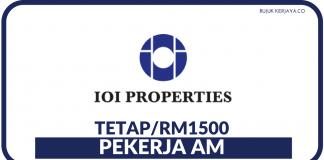 Pekerja AM di IOI Properties Group