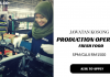 Production Operator di Fresh Food