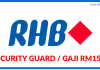 Security Guard di RHB Bank Berhad (1)