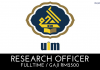 Universiti Islam Malaysia (UIM) - Research Officer