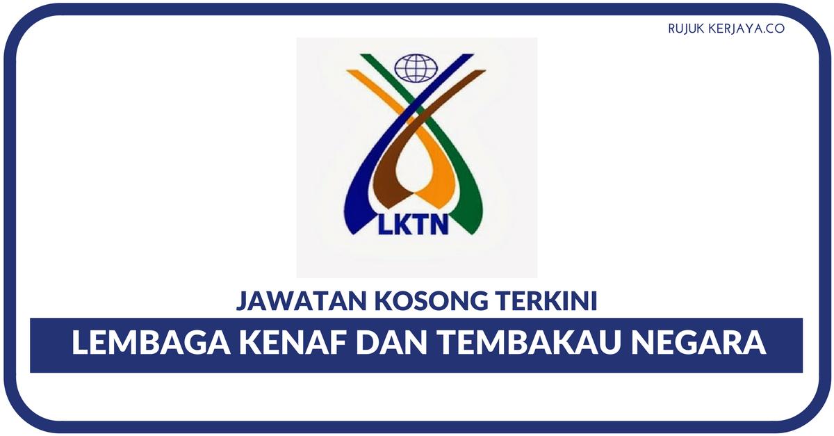 Lembaga Kenaf Dan Tembakau Negara Kerja Kosong Kerajaan