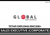 Sales Executive (Corporate) Global Talent Resources