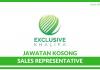 Sales Representative di Exclusive Khalifa