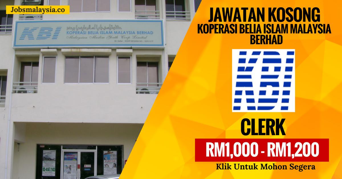 Koperasi Belia Islam Malaysia Kerja Kosong Kerajaan