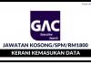 Data Entry Clerk di GAC Executive Search