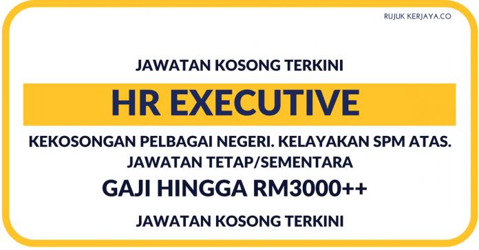 Eksekutif Sumber Manusia (HR Executive)