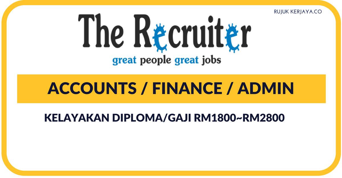 Agensi Pekerjaan The Recruiter Sdn Bhd
