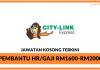 Citylink Express ~ Kekosongan Pembantu HR
