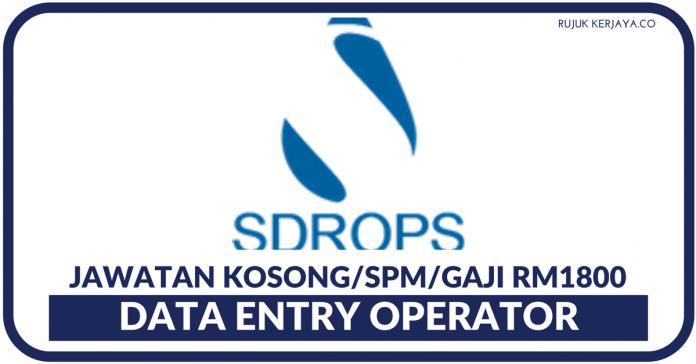 Data Entry Operator Sdrops