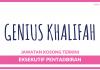 Genius Khalifah ~ Kekosongan Eksekutif Pentadbiran