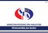 Kekosongan Baru di Suruhanjaya Perkhidmatan Awam Malaysia (SPA)