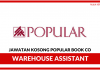 Popular Book Co (M) Sdn Bhd ~ Kekosongan Baru