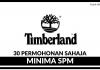 Timberland ~ Pelbagai Kekosongan Jawatan Minima SPM