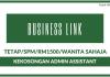 Business Link ~ Kekosongan Admin Assistant (SPM/Wanita Sahaja)