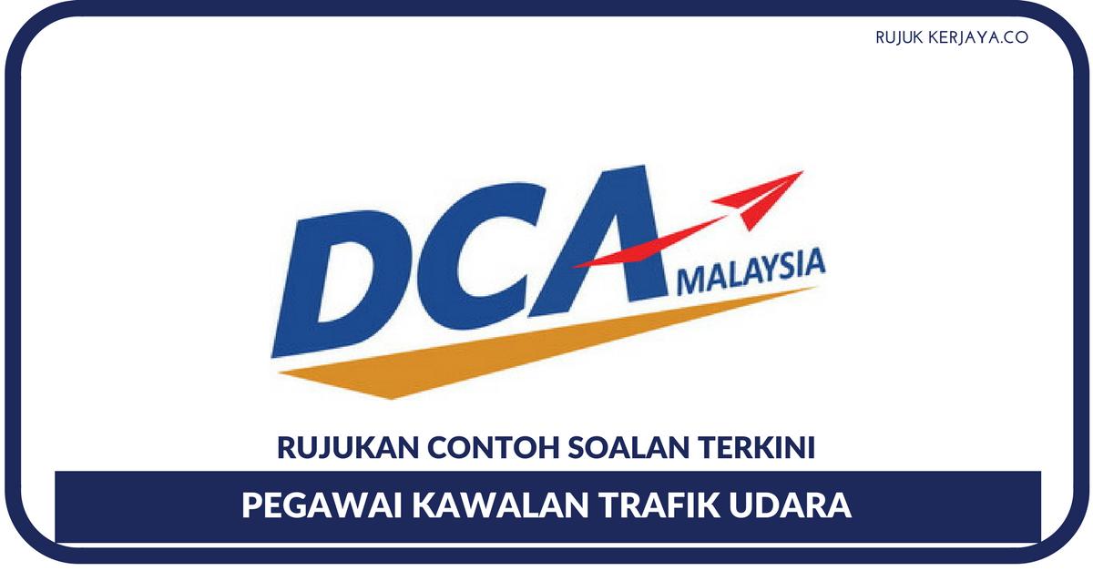 Contoh Soalan Pegawai Kawalan Trafik Udara & Penolong Pegawai Trafik Udara