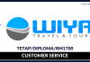 Customer Service Wiya Travel & Tour