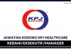 KPJ HealthCare Berhad ~ Kekosongan Kerani/Eksekutif & Pelbagai