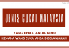 Jenis-jenis Cukai di Malaysia