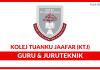 Kolej Tuanku Jaafar (KTJ) ~ Kekosongan Guru & Juruteknik