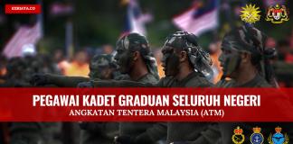 Pengambilan Pegawai Kadet Graduan ATM di Buka