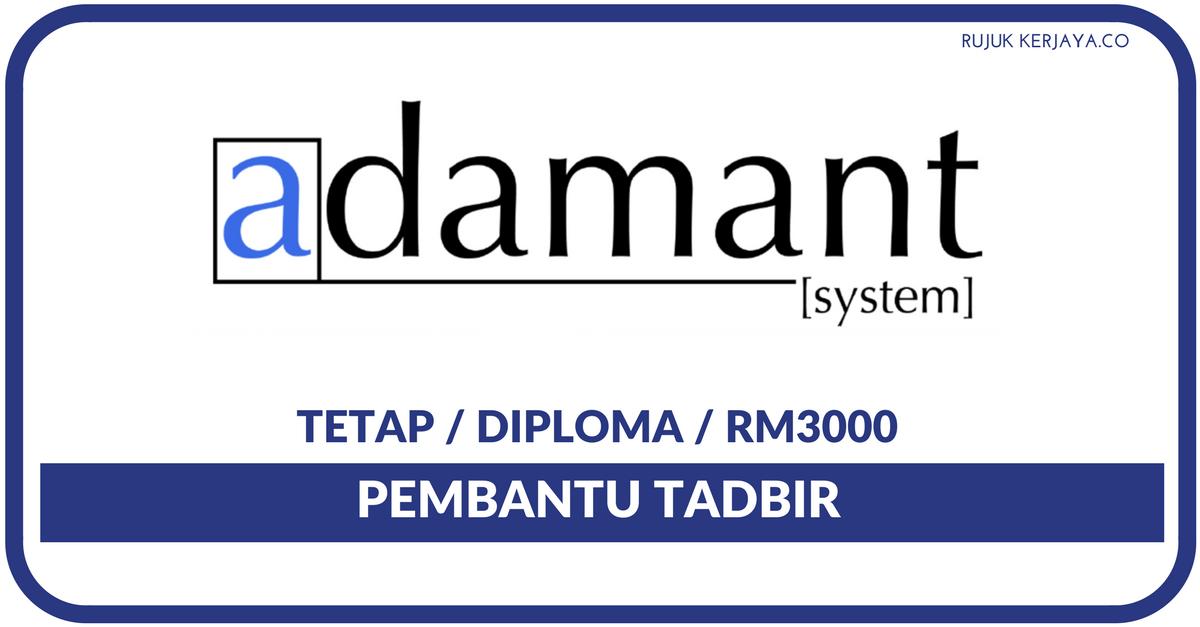 Adamant System Sdn Bhd Kerja Kosong Kerajaan