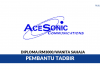Ace Sonic Communications ~ Pembantu Tadbir