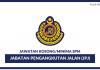 Jabatan Pengangkutan Jalan (JPJ) 2017/2018 ~ Kelayakan SPM Seluruh Negara