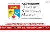 Pusat Perubatan Universiti Kebangsaan Malaysia ~ Pegawai Tadbir & Lain-Lain Jawatan