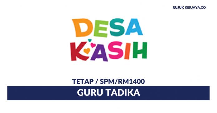 Jawatan Kosong Terkini Guru Tadika Di Taska DesaKasih • Kerja Kosong ... d1f6d28254