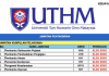 Universiti Tun Hussein Onn Malaysia (UTHM) ~ Kekosongan Posisi Pentadbiran Sesi 2019