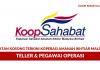 Koperasi Amanah Ikhtiar Malaysia Berhad ~ Teller & Pegawai Operasi