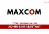 Maxcomponents ~ Admin & HR Assistant