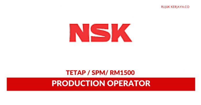 Production Operator Di NSK Micro Precision