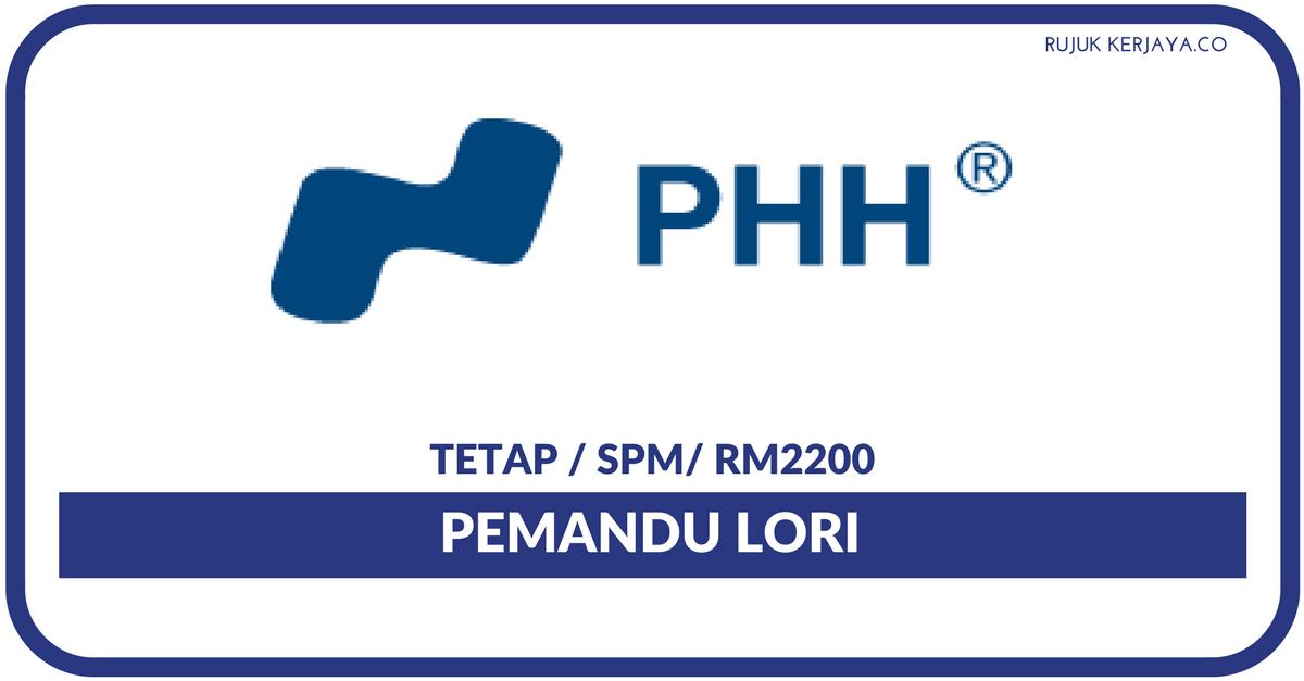 Phh Special Steel Sdn Bhd Kerja Kosong Kerajaan