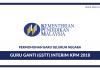 Pengambilan Guru Interim Kementerian Pendidikan Malaysia 2018/2019 Kini Di Buka