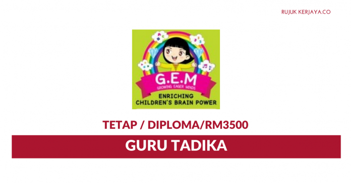 GEM Growing Eager Minds ~ Guru Tadika