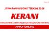 Kerani Seluruh Negara ~ Minima SPM/Gaji RM1500+/Terbuka Pelbagai Negeri
