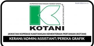 Koperasi Kakitangan Kementerian Pertanian (KOTANI)