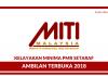 Kementerian Perdagangan Antarabangsa dan Industri (MITI) Terbuka 2018