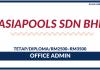 Office Admin di Asiapools Sdn Bhd ~ Diploma/Gaji RM2500