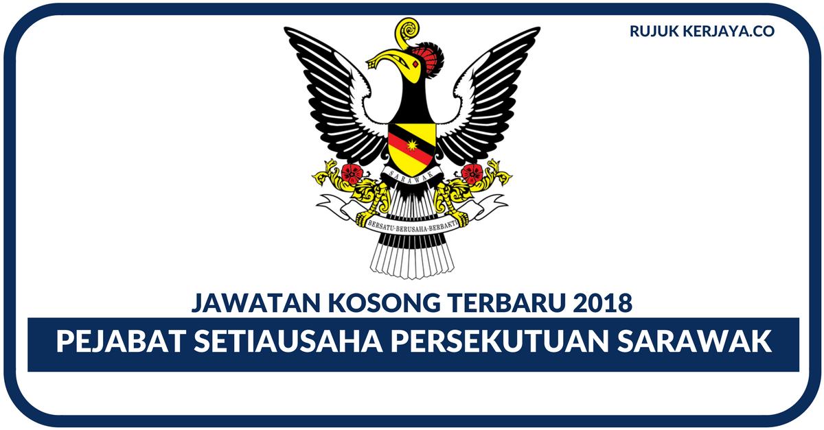 Pejabat Setiausaha Persekutuan Sarawak 1 Kerja Kosong Kerajaan