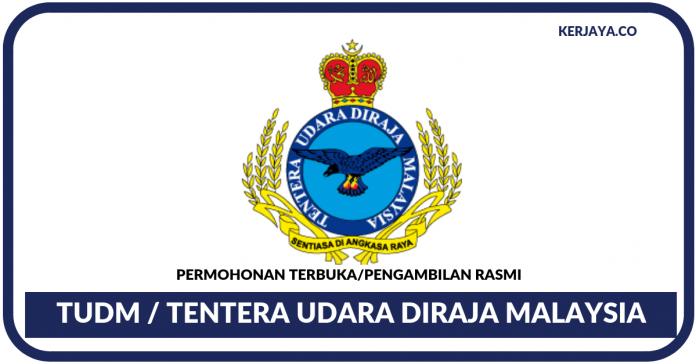 Permohonan TUDM Tentera Udara DiRaja Malaysia