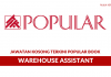 Popular Book Co ~ Warehouse Assistant