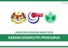 RISDA Espek 2018 ~ Kekosongan Kerani, Eksekutif & Pengurus